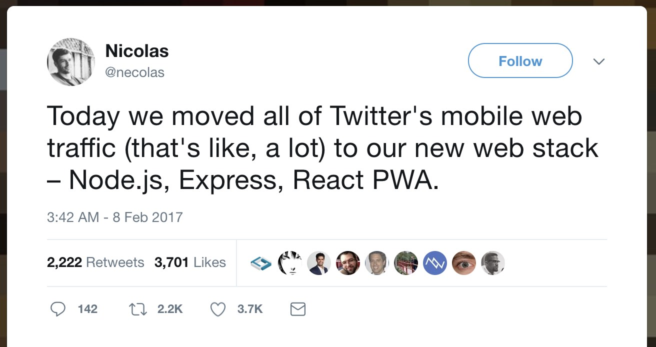 twitter announces its own Progressive Web App