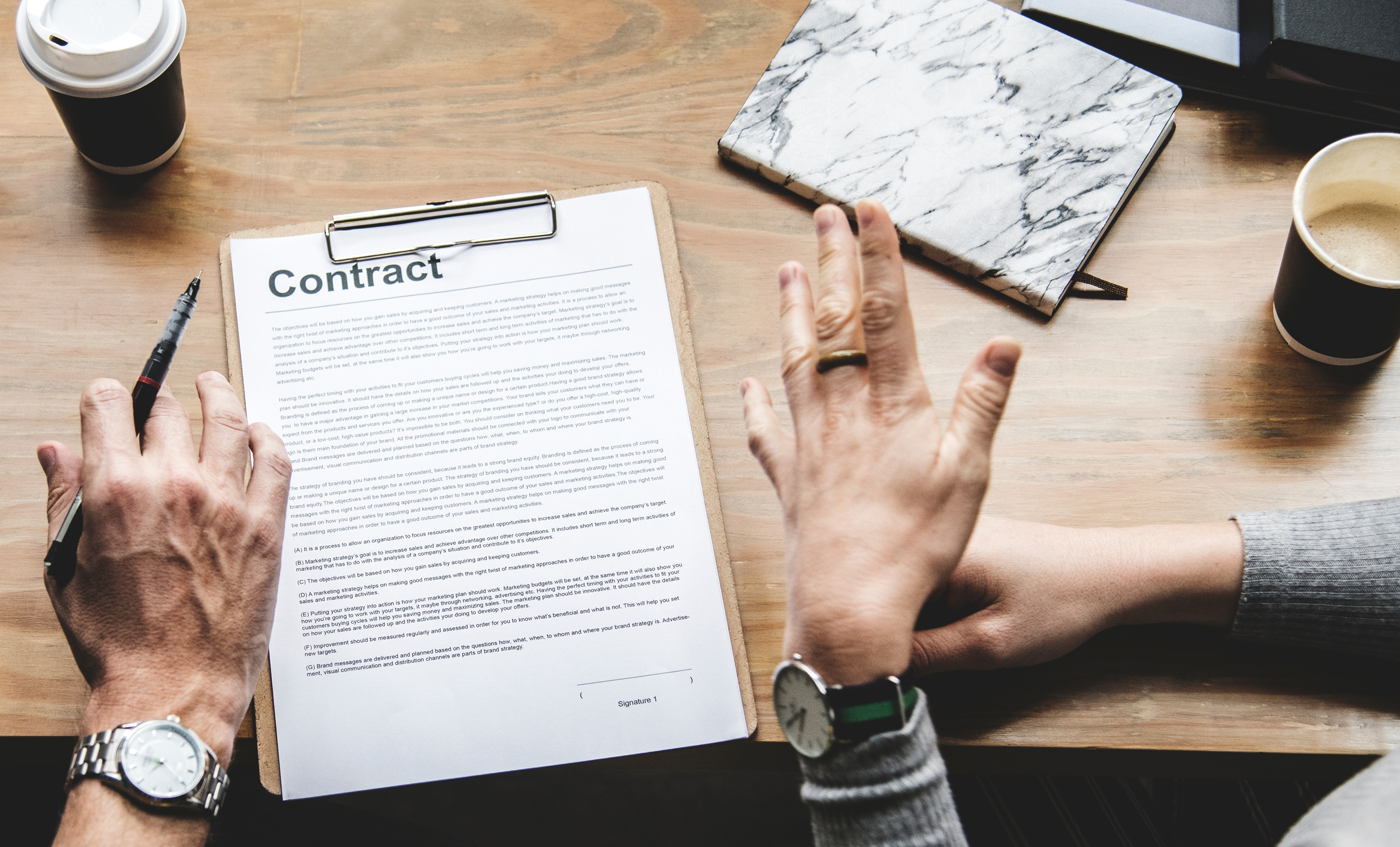 software development contracts