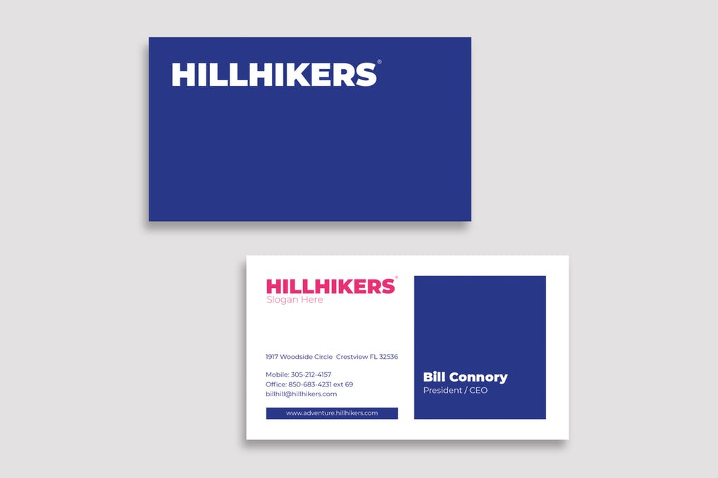 art director's pick of accounting business card #2