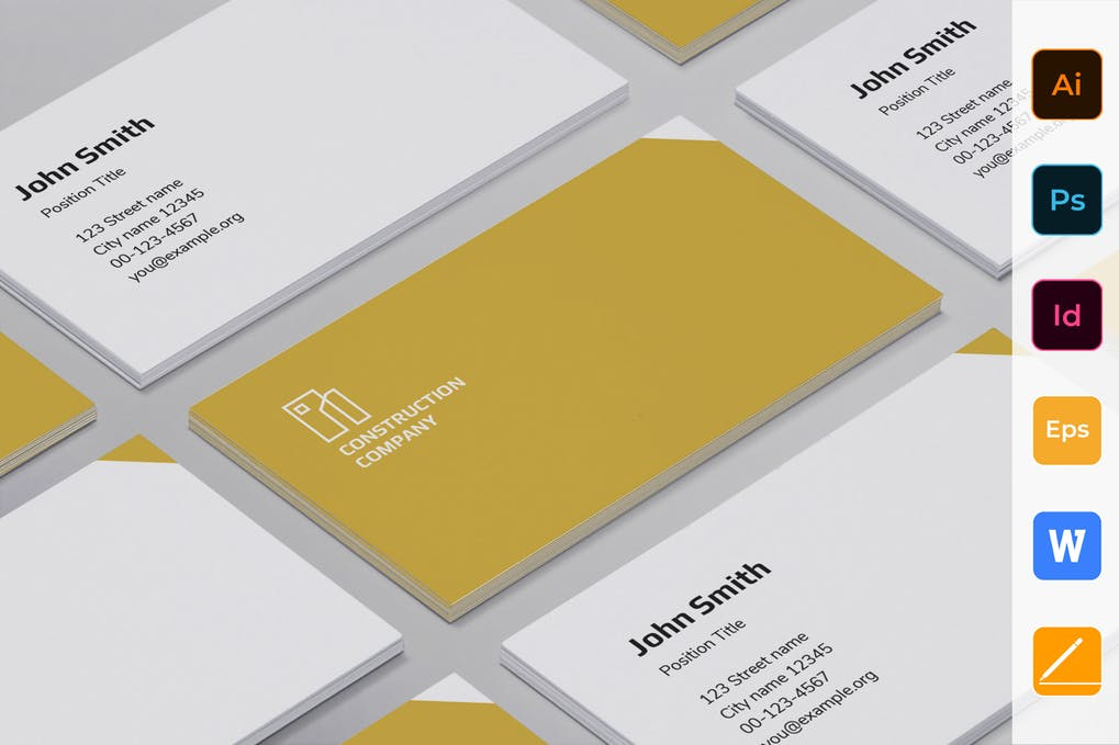 art director's pick of accounting business card #3