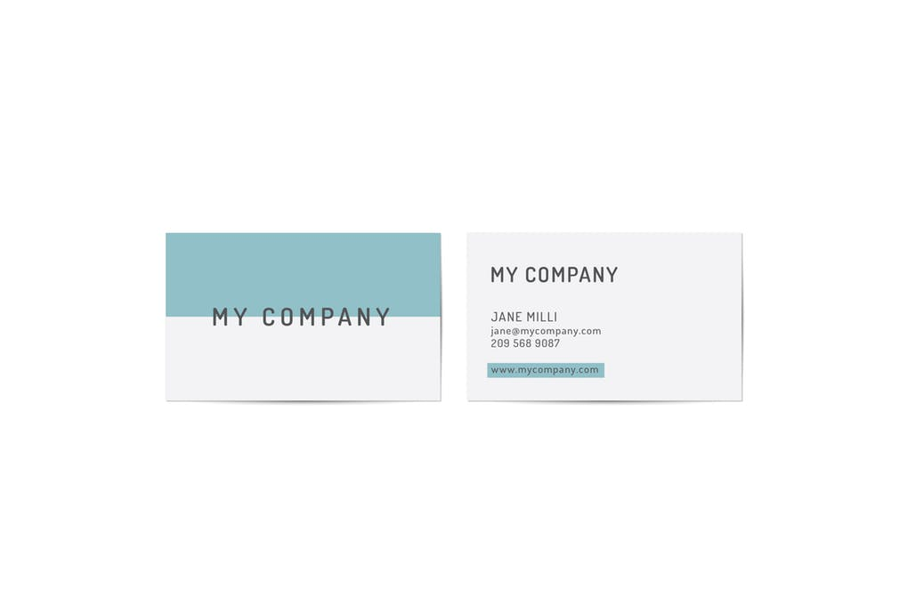 art director's pick of accounting business card #5
