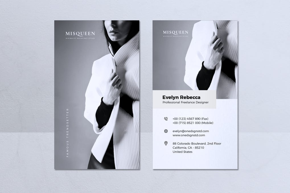 art director's pick of actor business card #6