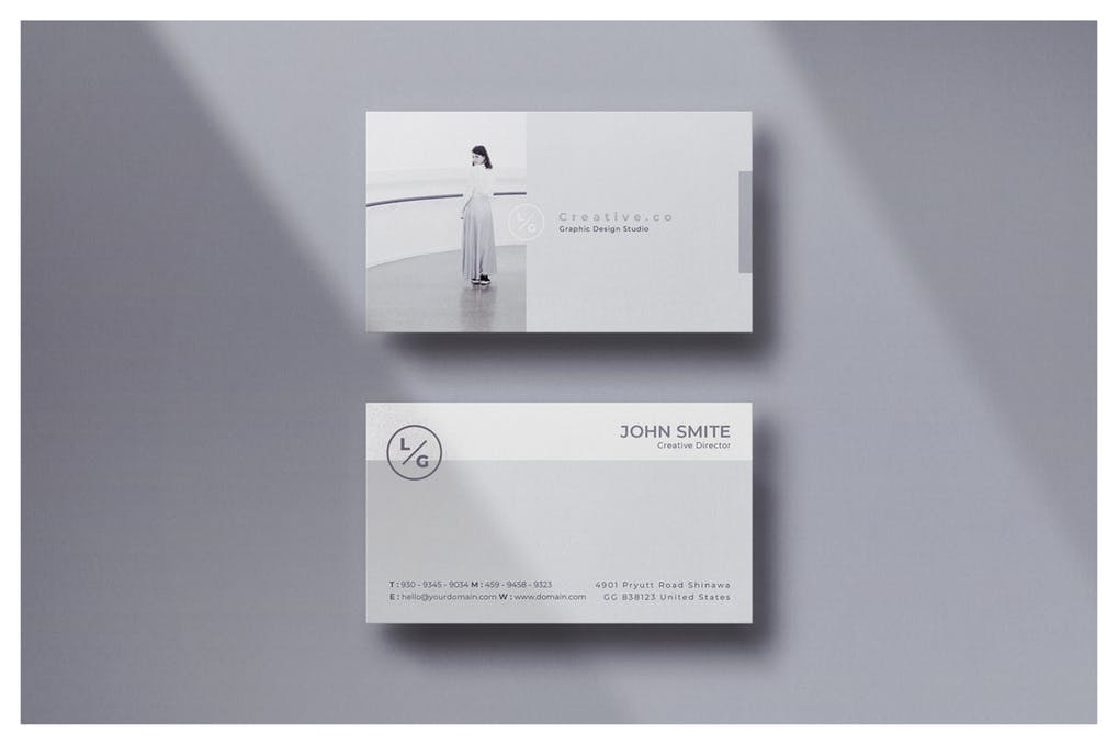 art director's pick of actor business card #8