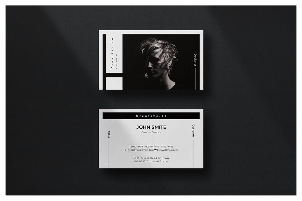 art director's pick of actor business card #9
