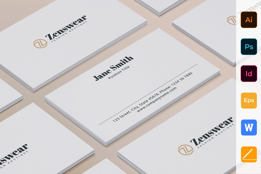 art director's pick of attorney business card #11