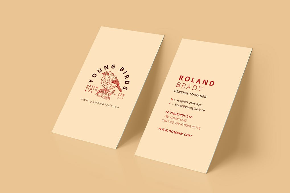 art director's pick of bakery business card #6