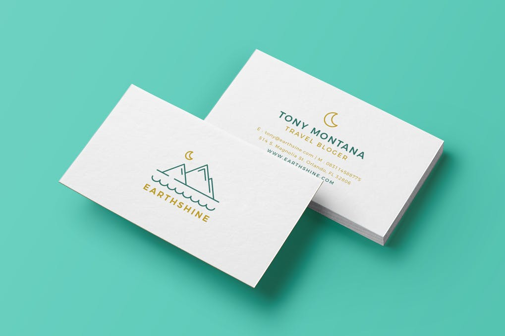 art director's pick of blogger business card #1