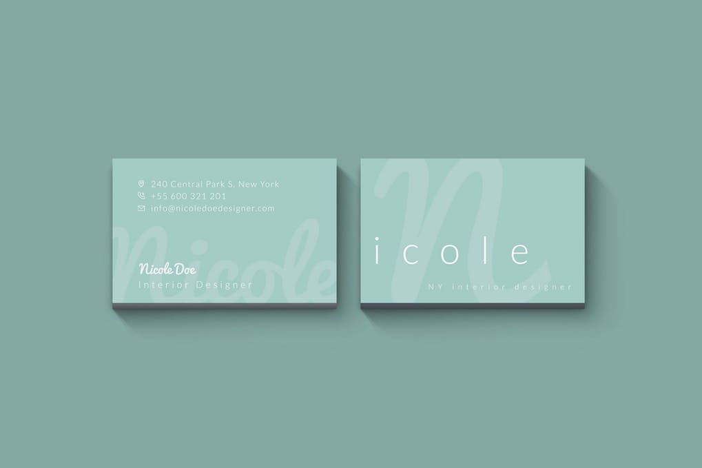 art director's pick of blogger business card #15