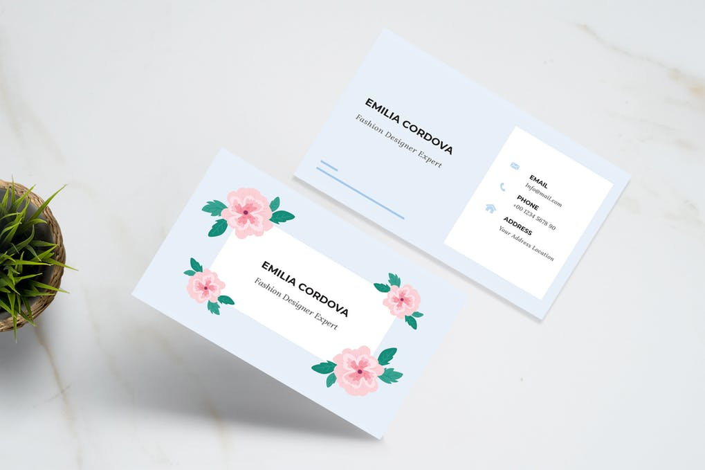 art director's pick of blogger business card #22