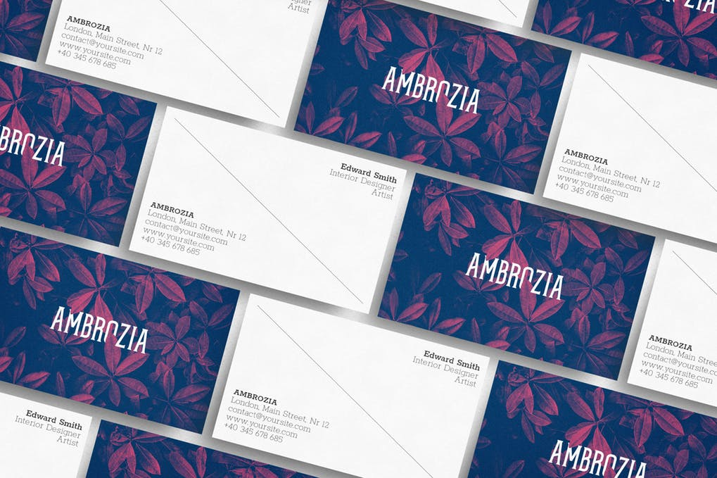 art director's pick of blogger business card #27