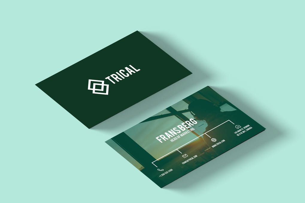 art director's pick of blogger business card #30