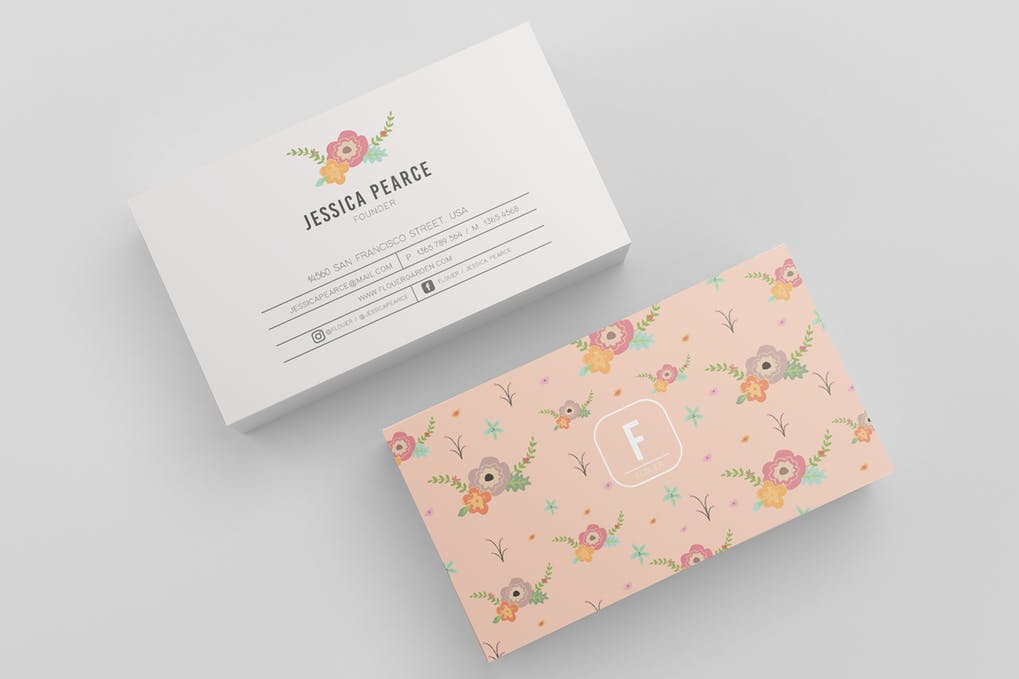 art director's pick of blogger business card #33