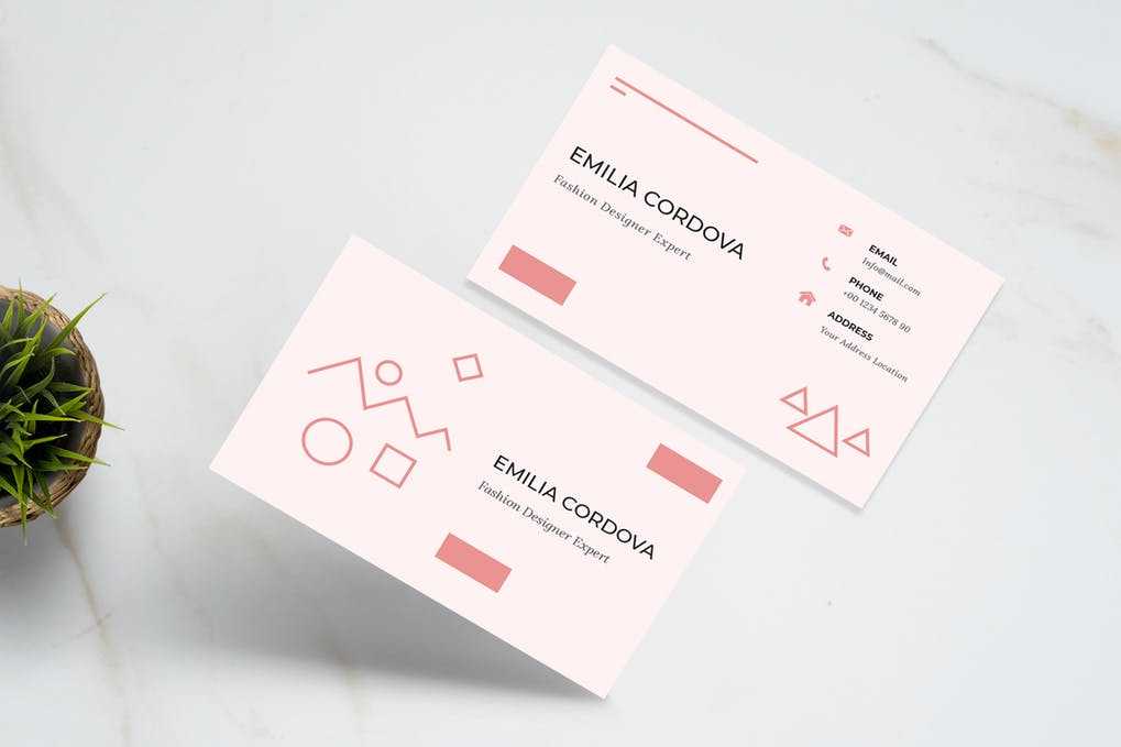 art director's pick of blogger business card #39