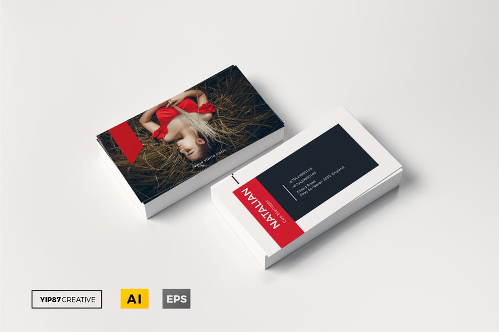 art director's pick of blogger business card #5