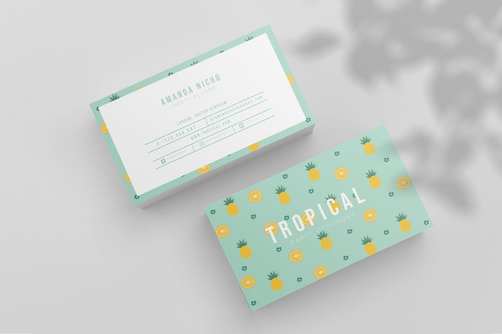 art director's pick of blogger business card #55