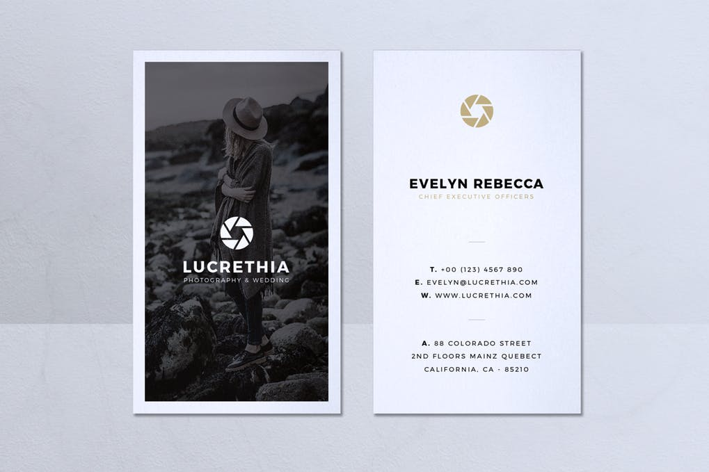 art director's pick of blogger business card #8