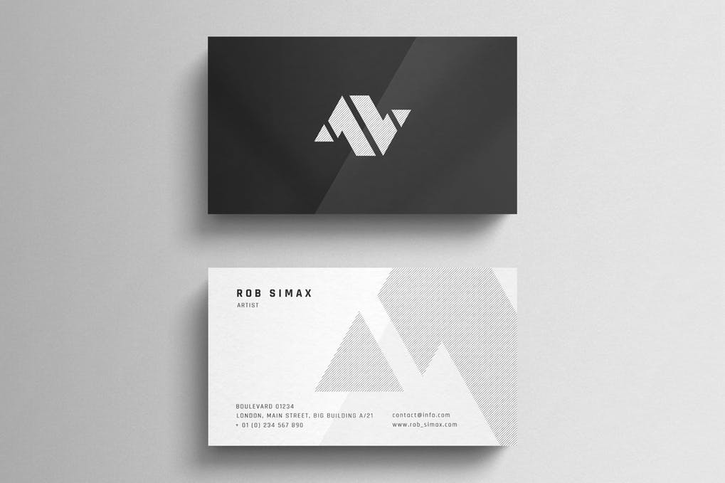 art director's pick of cleaning business card #6
