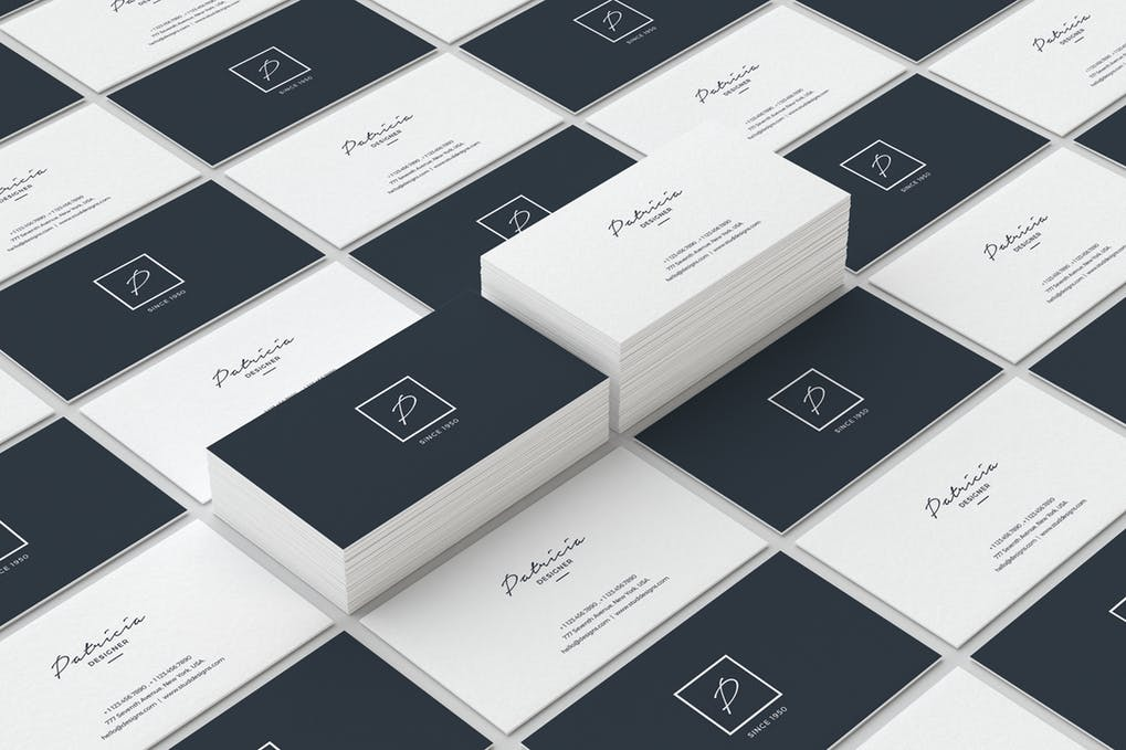 art director's pick of cleaning business card #9