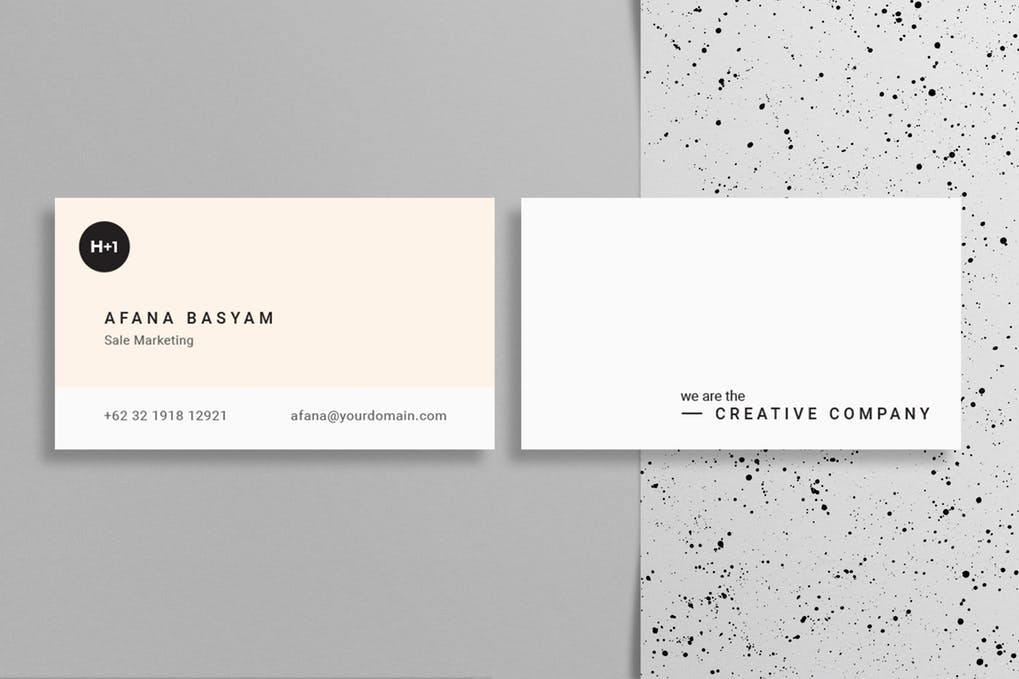 art director's pick of dental business card #3