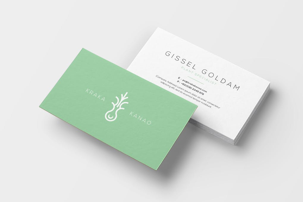 art director's pick of dental business card #6
