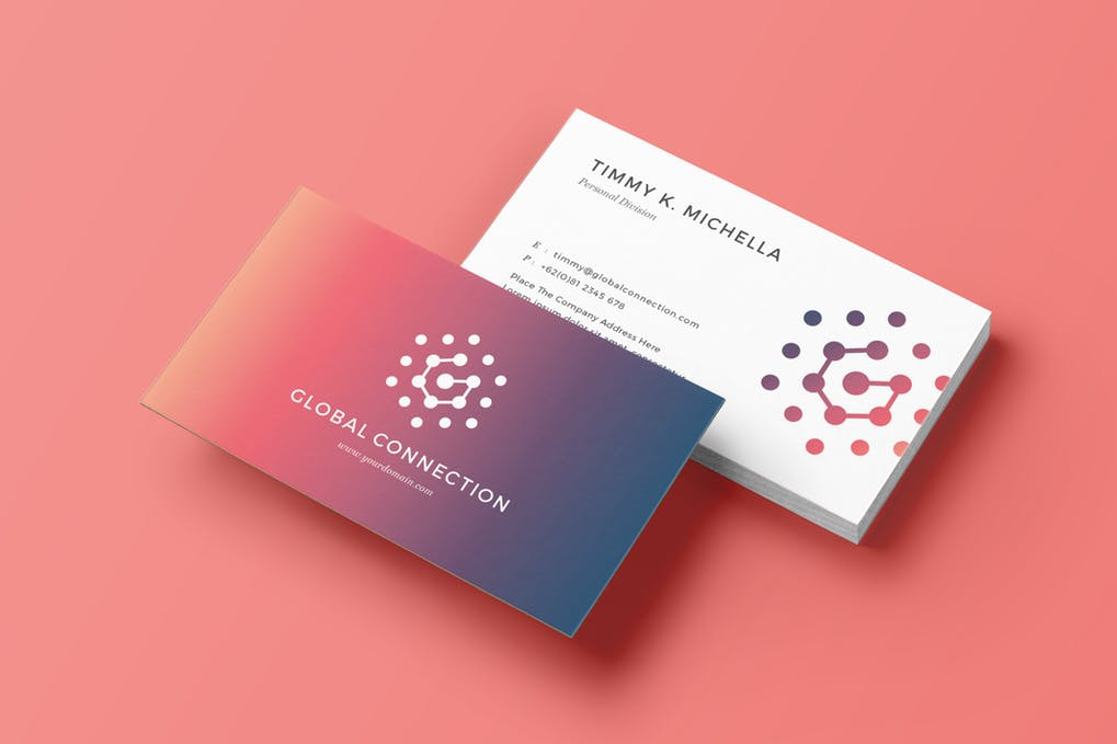 art director's pick of dental business card #7