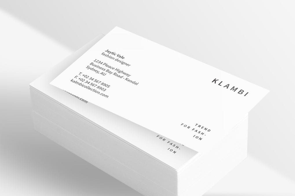 art director's pick of dental business card #8