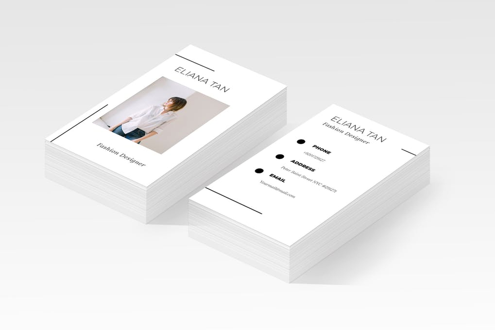 art director's pick of dental business card #9