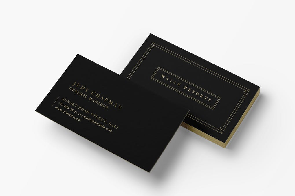 art director's pick of elegant business card #10