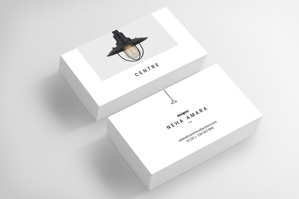 art director's pick of elegant business card #3