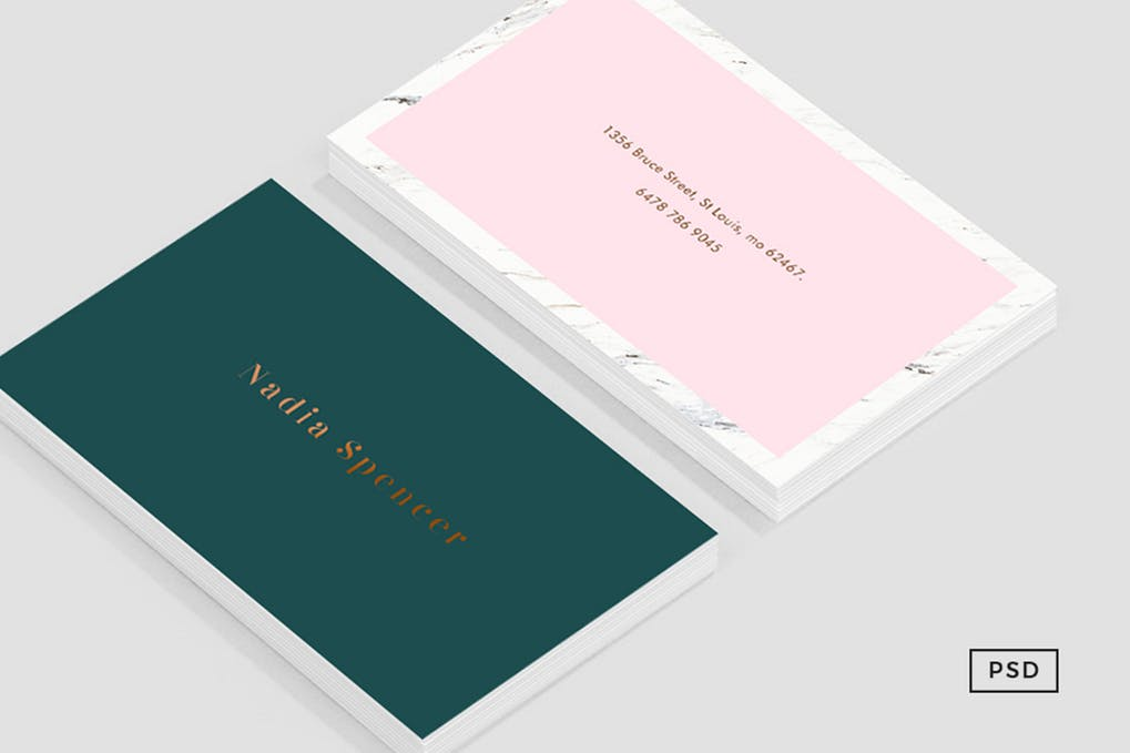 art director's pick of elegant business card #4