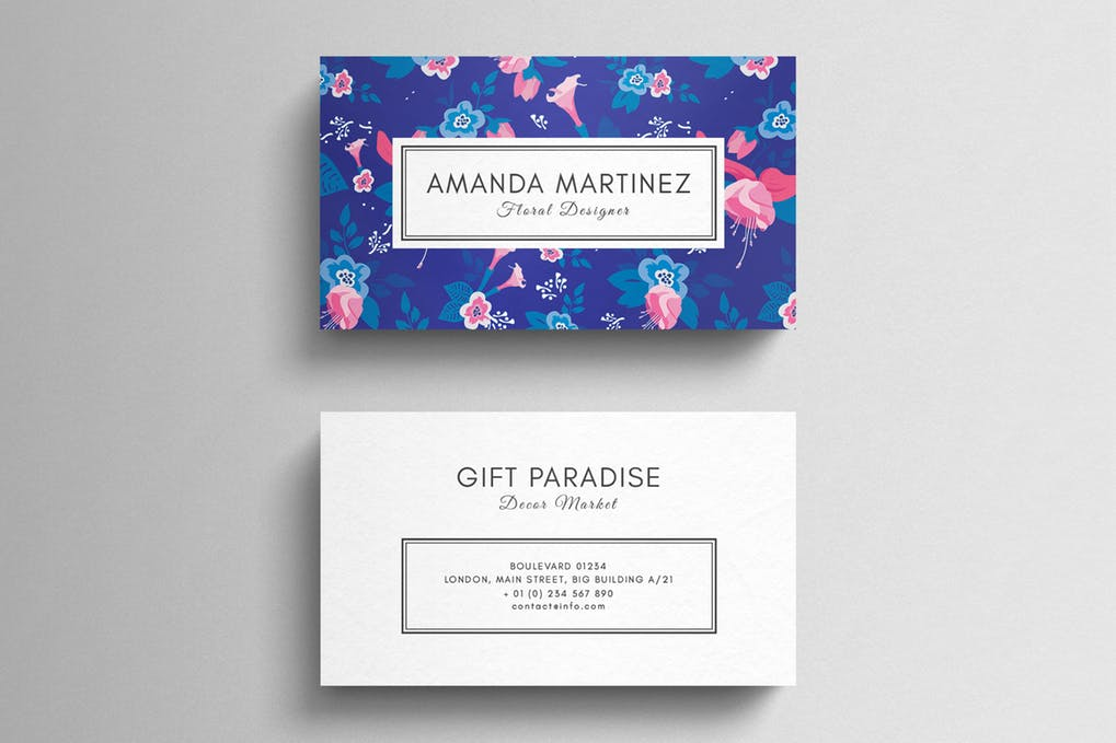 art director's pick of elegant business card #6