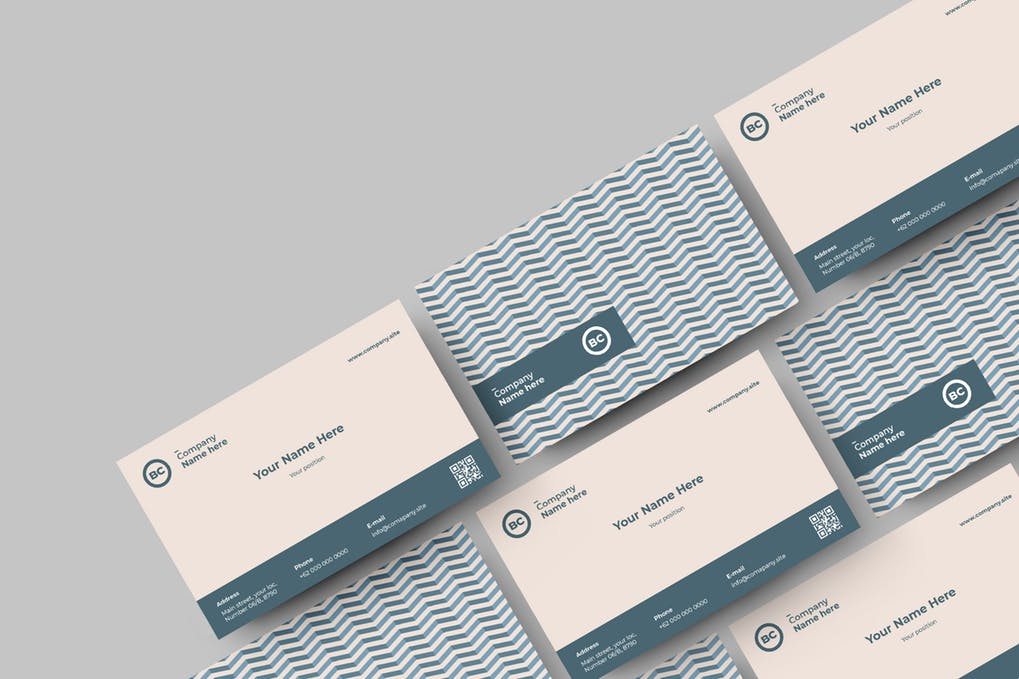 art director's pick of elegant business card #8