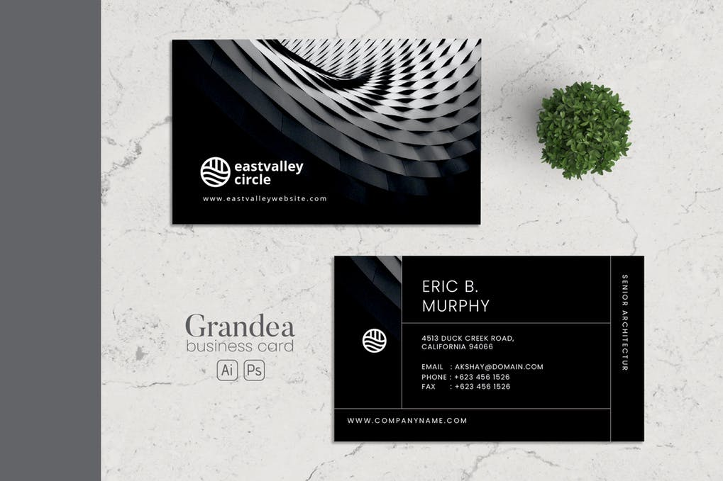 art director's pick of engineering business card #10