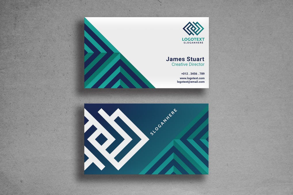 art director's pick of engineering business card #2