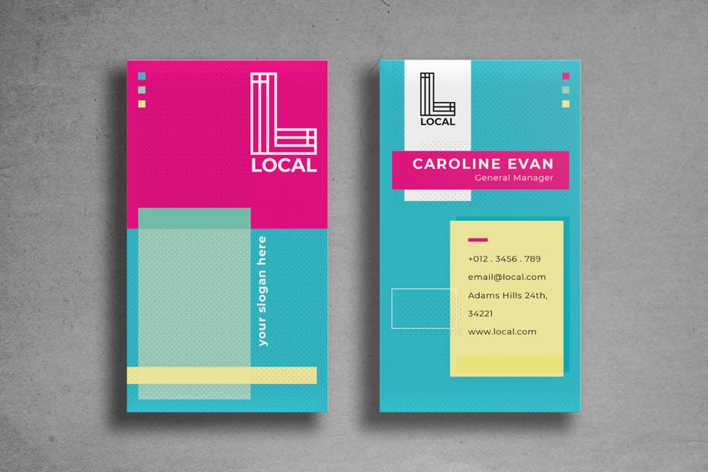 art director's pick of engineering business card #3