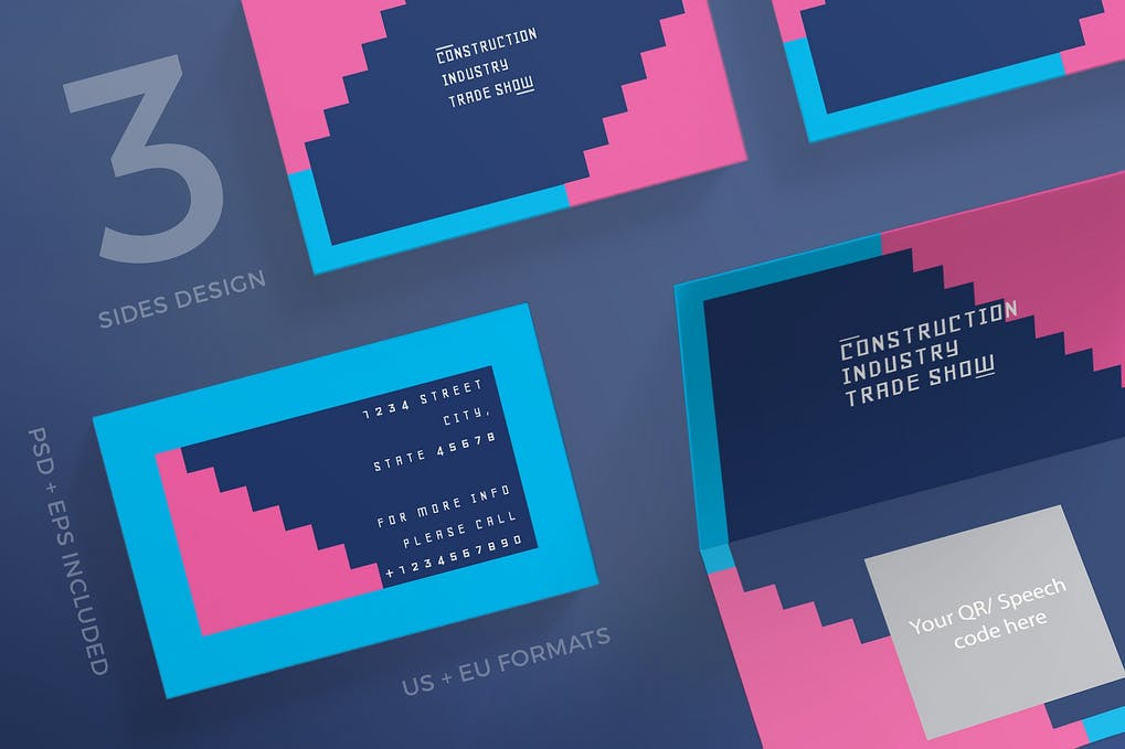 art director's pick of engineering business card #7