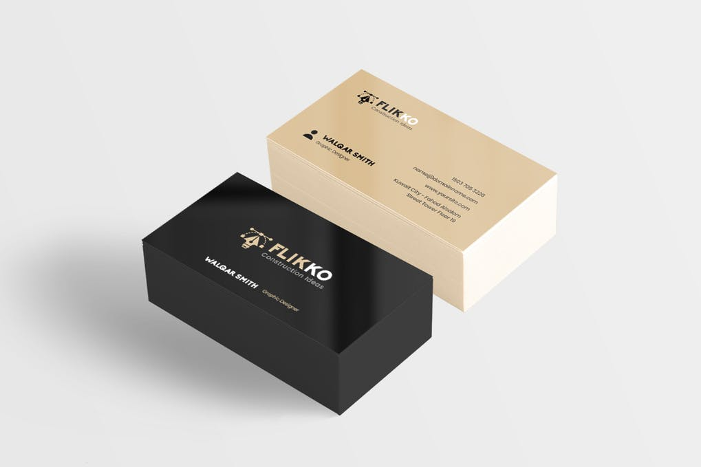 art director's pick of engineering business card #8