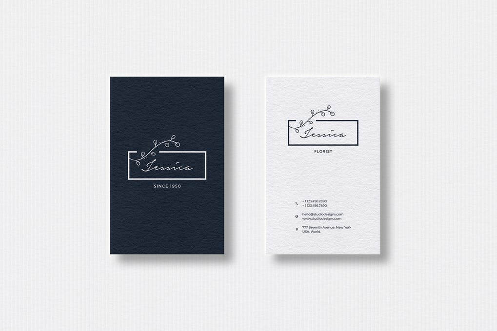 art director's pick of event planner business card #2