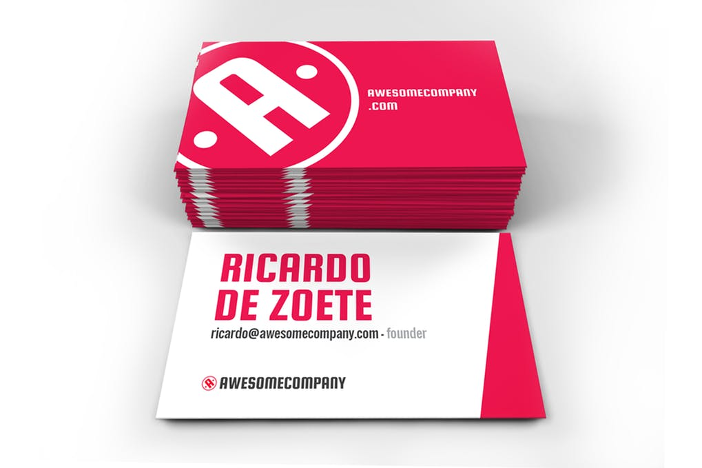 art director's pick of event planner business card #5