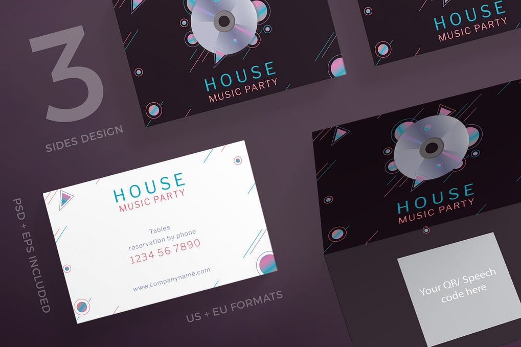 art director's pick of event planner business card #8