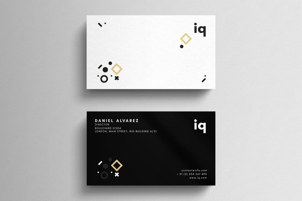 art director's pick of event planner business card #9