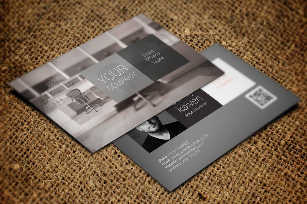 art director's pick of interior design business card #4