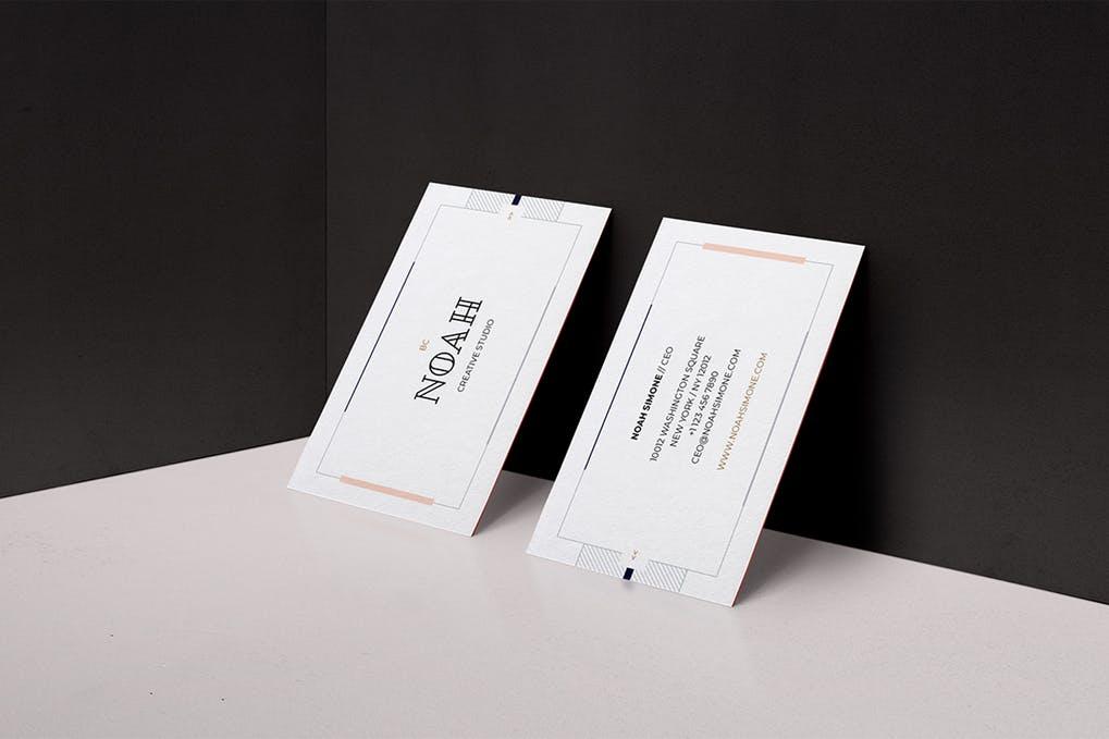 art director's pick of interior design business card #5