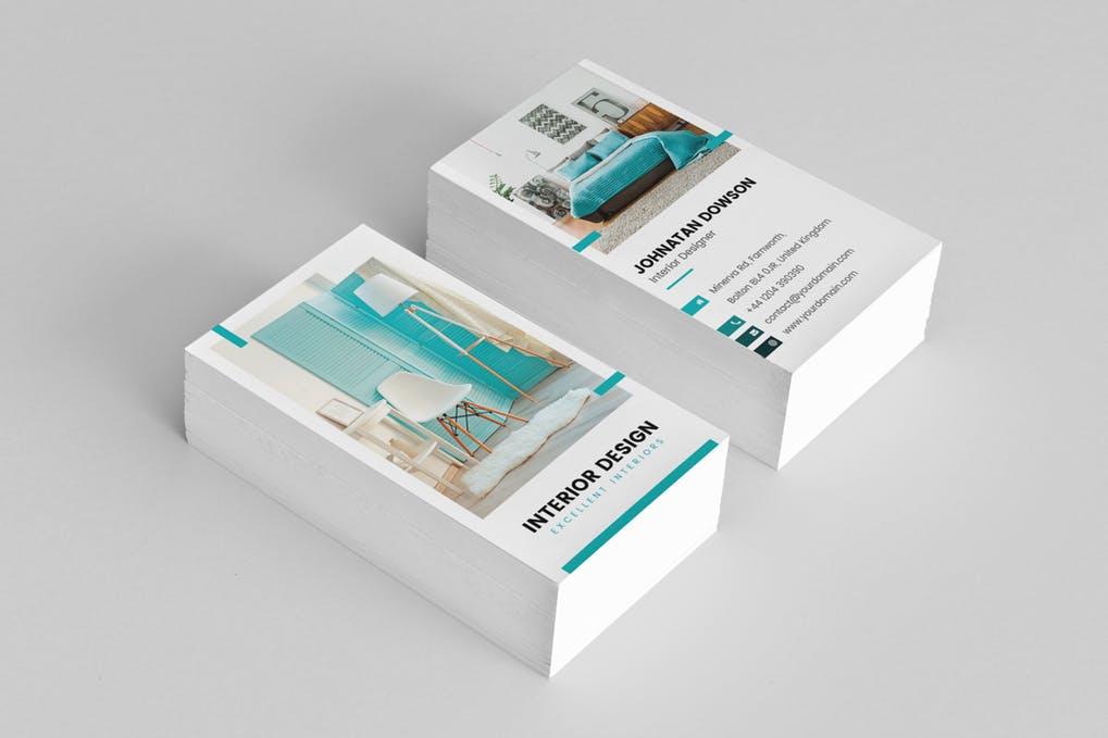 art director's pick of interior design business card #6