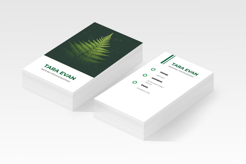 art director's pick of landscaping business card #3
