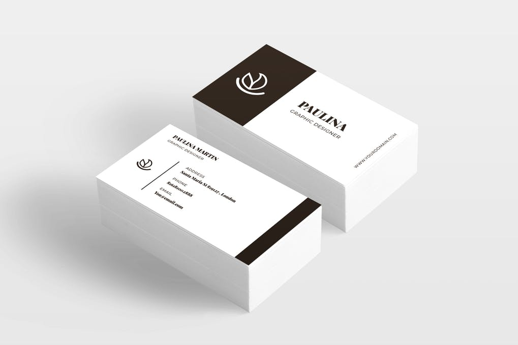 art director's pick of landscaping business card #7