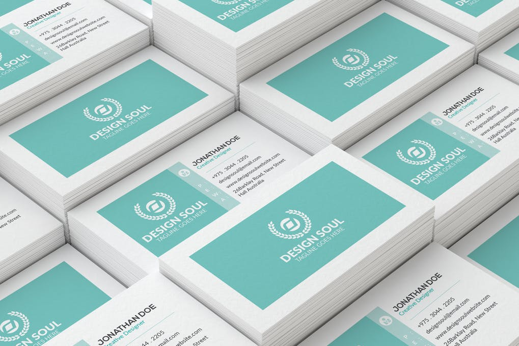 art director's pick of landscaping business card #8