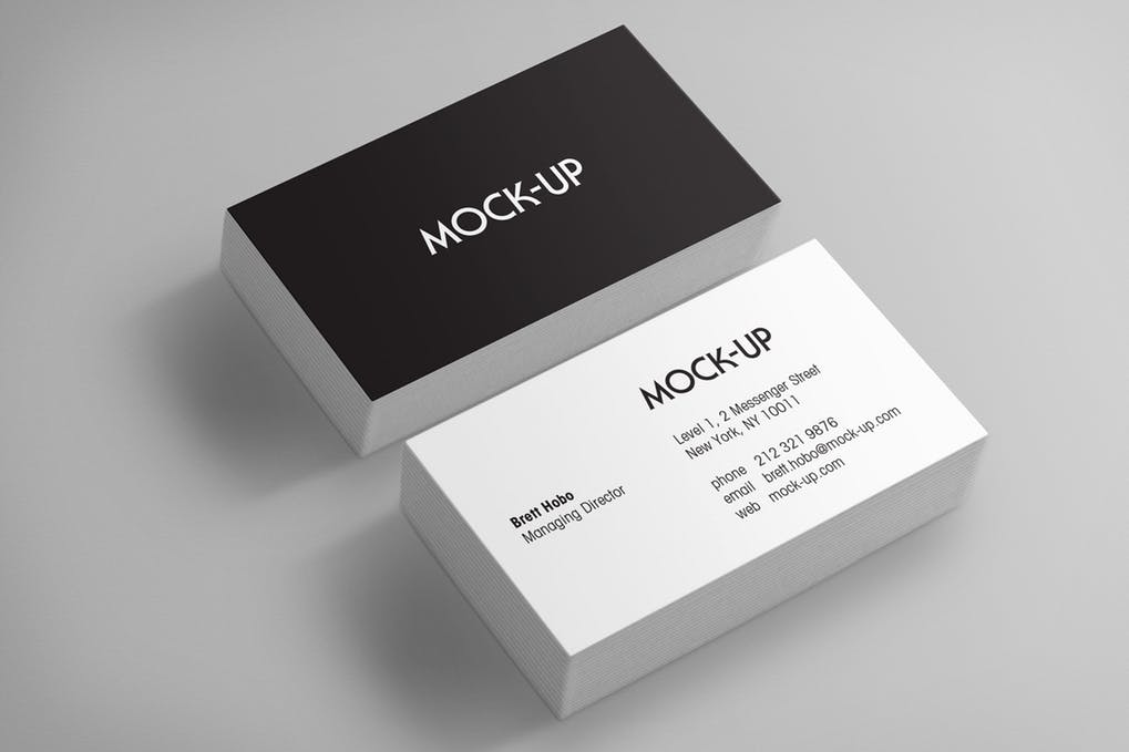 art director's pick of law firm business card #13