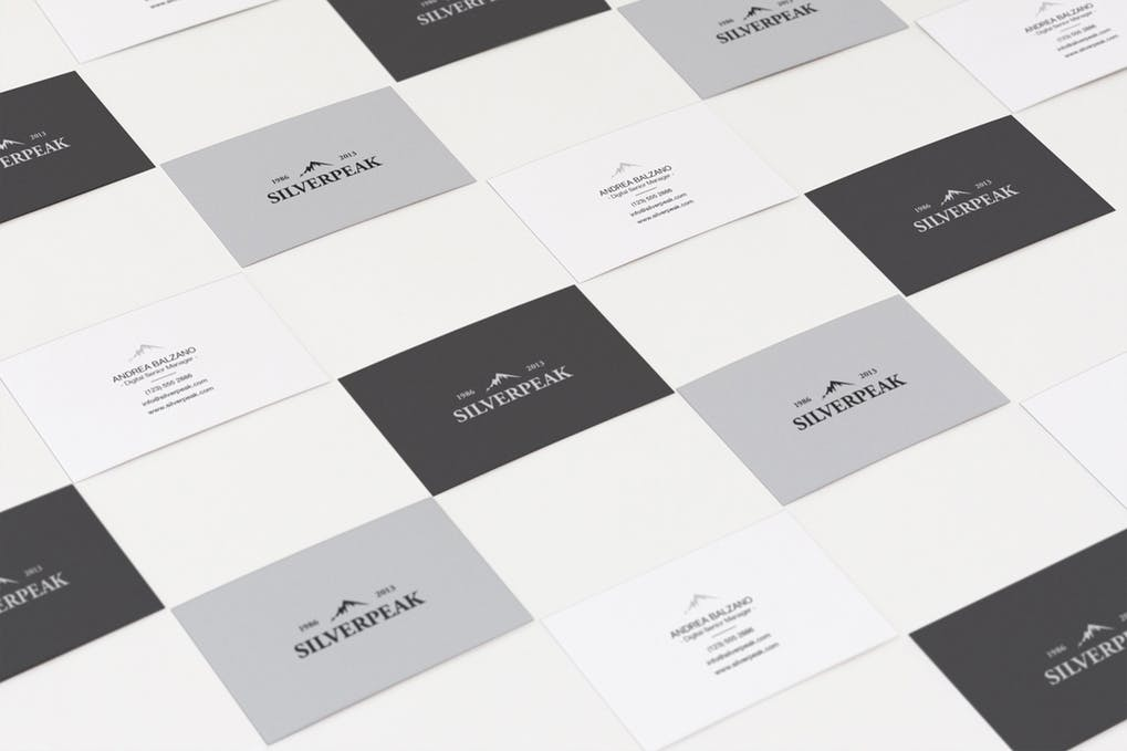 art director's pick of law firm business card #14