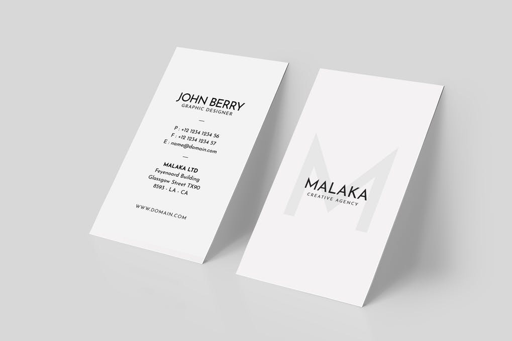 art director's pick of law firm business card #2